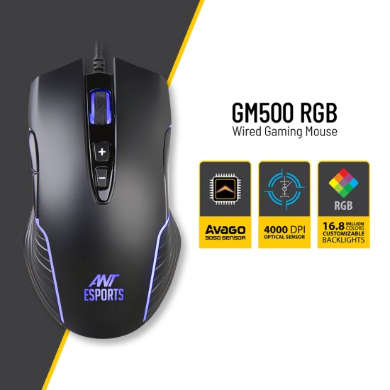 Ant Esports GM500RGB Gaming Mouse